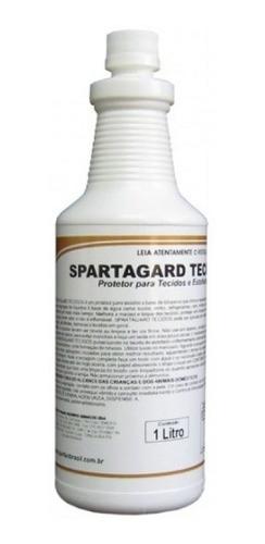 spartagard 1 litro protetor para tecidos e estofados spartan