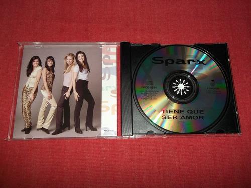 sparx - tiene que ser amor cd imp ed 1997 mdisk