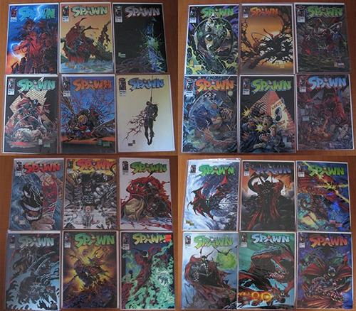 spawn coleccion 60 numeros en ingles
