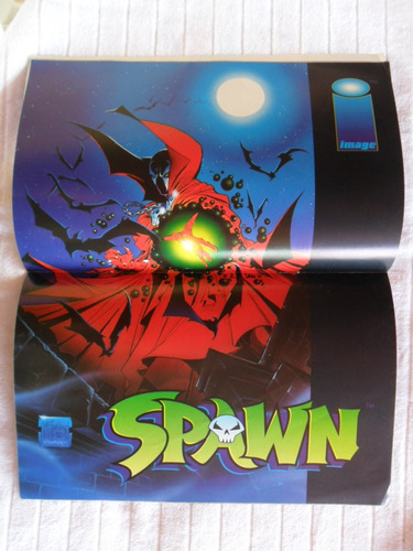spawn nº 1! março 1996! editora abril!