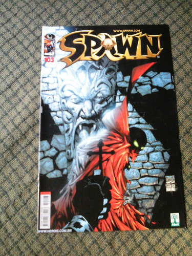 spawn n. 103 editora abril