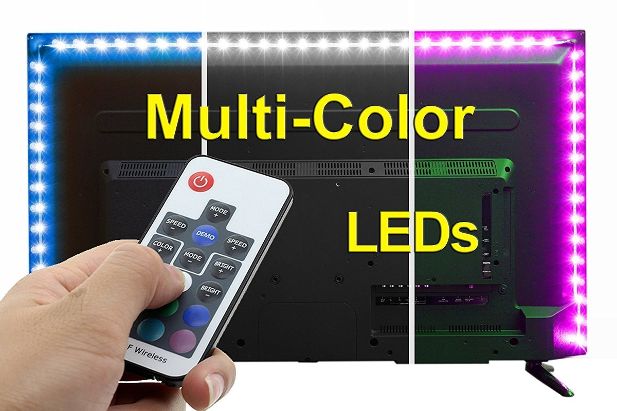 Spe usb led light strip with rf remote control x large cargando zoom aloadofball Gallery