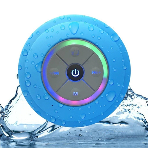 speaker altavoz bluetooth para baño resistente a la humedad