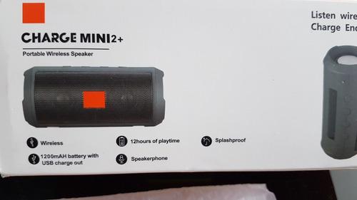 speaker chrage mini 2+, wireless, bluethoot, 1.200mah, radio