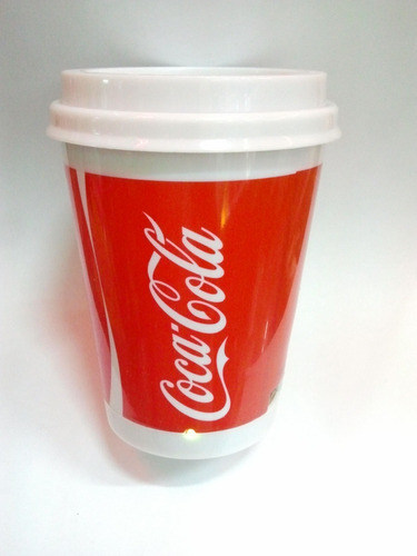 speaker vaso de coca cola
