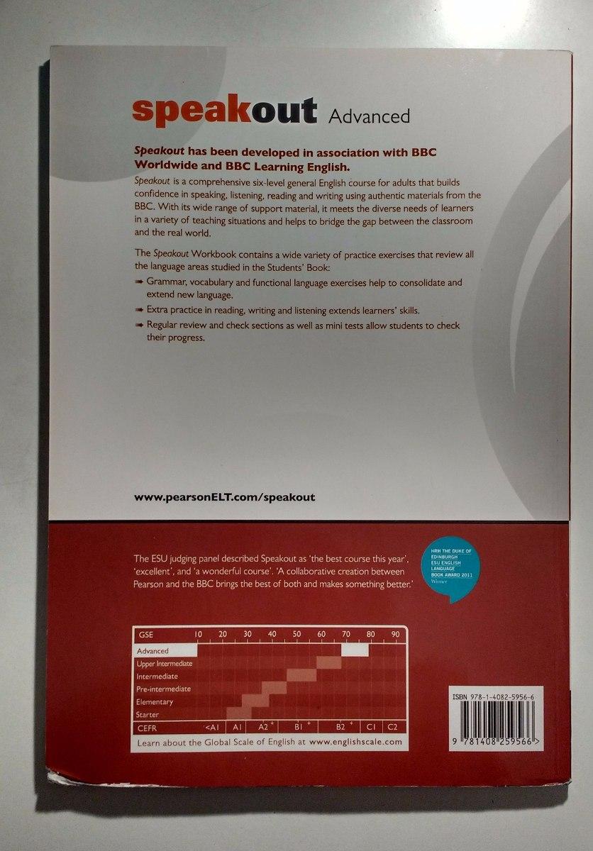 Speakout advanced 2 livros students book workbook r 8990 carregando zoom fandeluxe Images