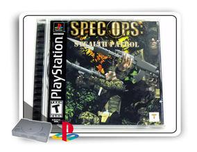 Spec Ops Stealth Patrol Original Playstation 1 Ps1
