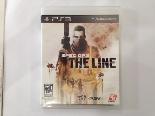 spec ops the line playstation 3 ps3