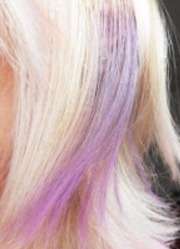 special effects purple smoke