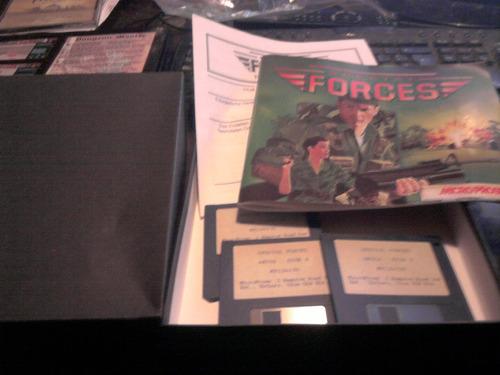 special forces juego amiga 3 diskettes edicion alemana