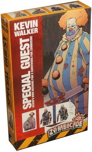special guest kevin walker - expansão jogo imp zombicide