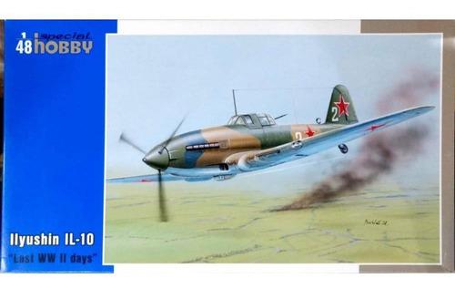 special hobby 1/48 48109 ilyushin il-10 last wwii days