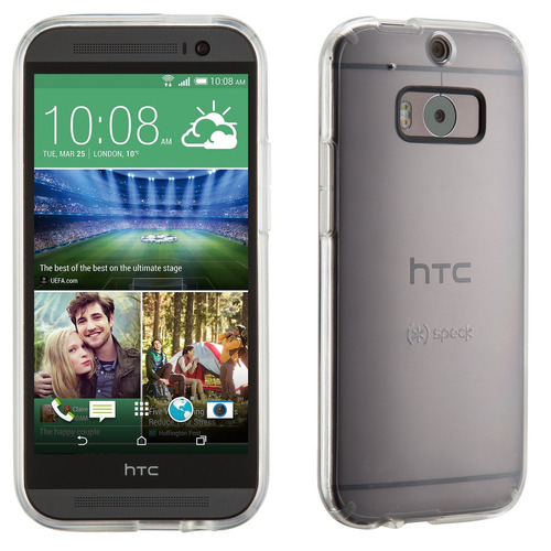 speck products gemshell clear case for htc one m8