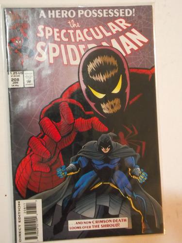 spectacular spiderman n° 208 - marvel