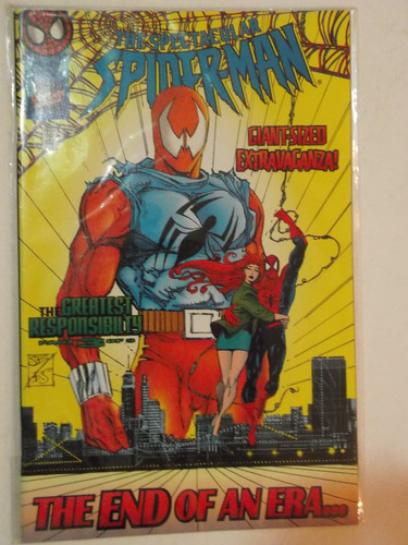 spectacular spiderman n° 229 - marvel