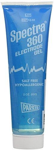 spectra 12-02 parker laboratories 360 electrode gel, 2 oz