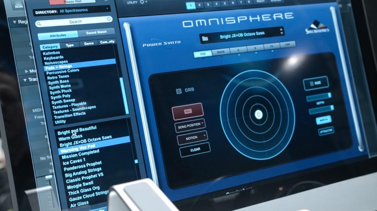 omnisphere no sound source