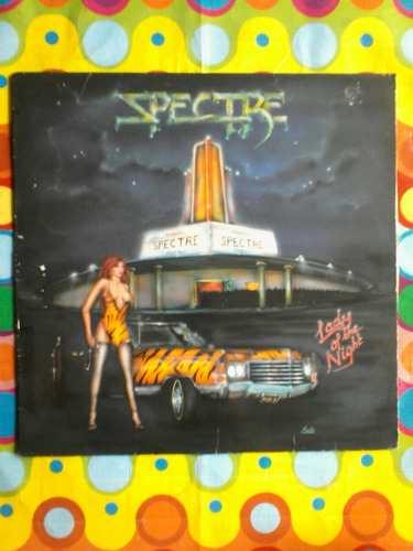 spectre lp lady of the night 1985 importado usa