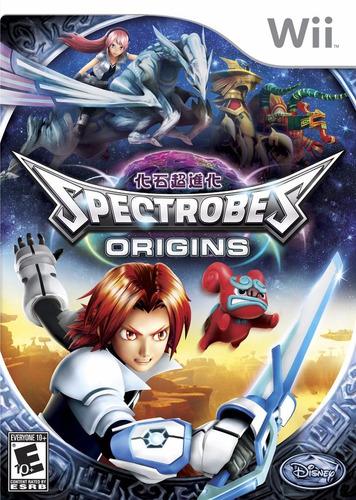 spectrobes origins - sellado   ( nintendo wii - wii u )