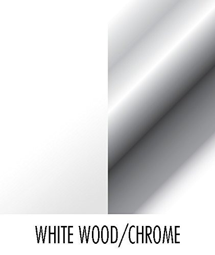 spectrum diversified seven hook key rack, madera blanca !