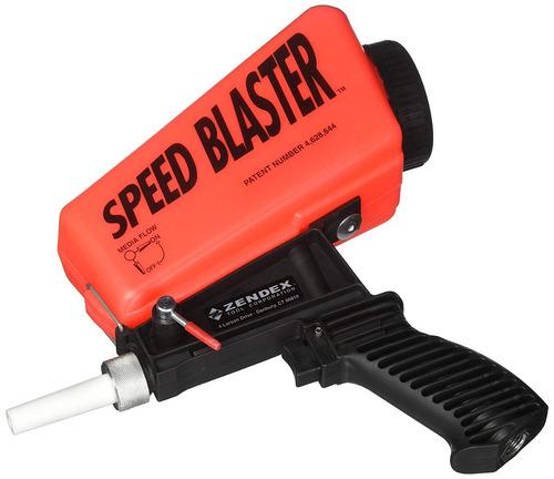 speed ¿¿blaster gravity feed media blaster - rojo