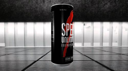 speed energizante unlimited lata 250 ml por pack caja x24