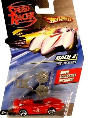 speed ??racer 1:64 die cast car wheels hot mach 4 con hojas