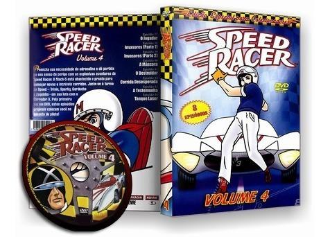 speed racer - dublado - completo *colecionador* - 5 dvds