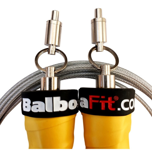speed rope soga balboafit rulemanes para crossfit
