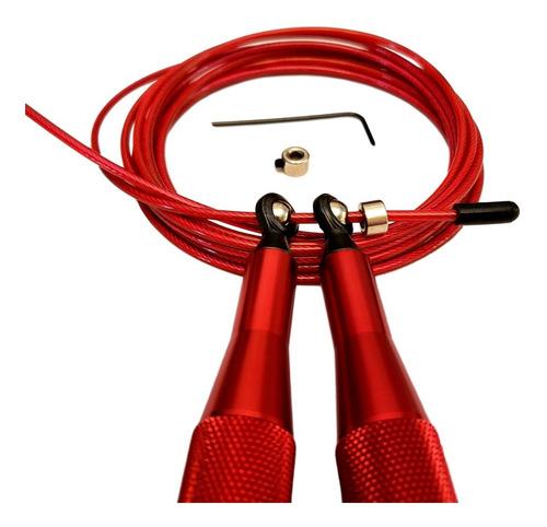 speed rope soga saltar aluminio balboafit rulemanes