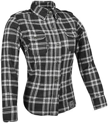 speed & strength smokin' aces de la mujer de la camisa gris
