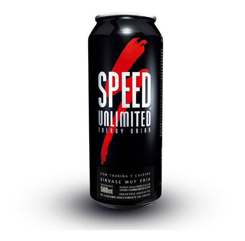 speed unlimited energizante lata x 500 ml.