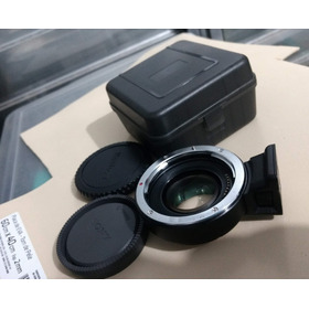 Speedbooster Af Camera Plus Canon Ef / Nex - E-mount Sony