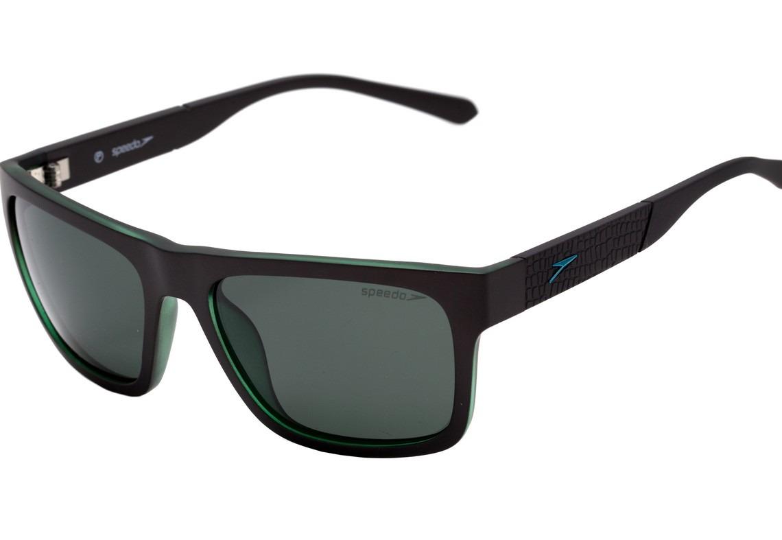 ddd9827f269e0 speedo erizo - óculos de sol d01 preto e verde fosco verde. Carregando zoom.