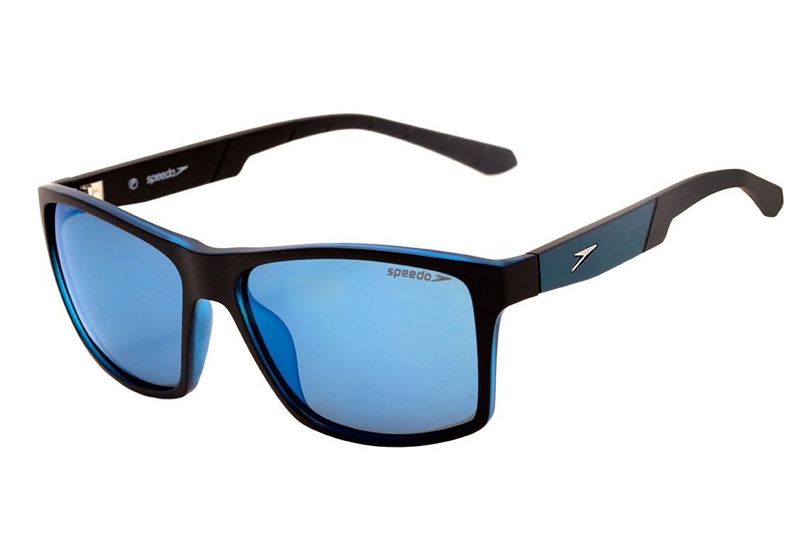 7e2c85854f62e speedo scuba - óculos de sol a01 preto e azul fosco  azul. Carregando zoom.