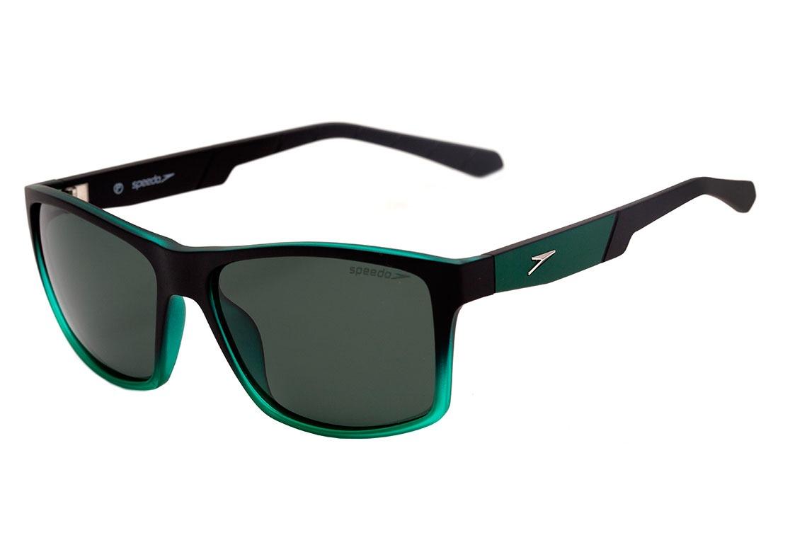 6c9ebceb5dc99 speedo scuba - óculos de sol c01 preto e verde translúcido. Carregando zoom.