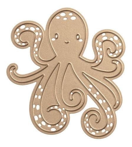 spellbinders happy octopus etched dies*