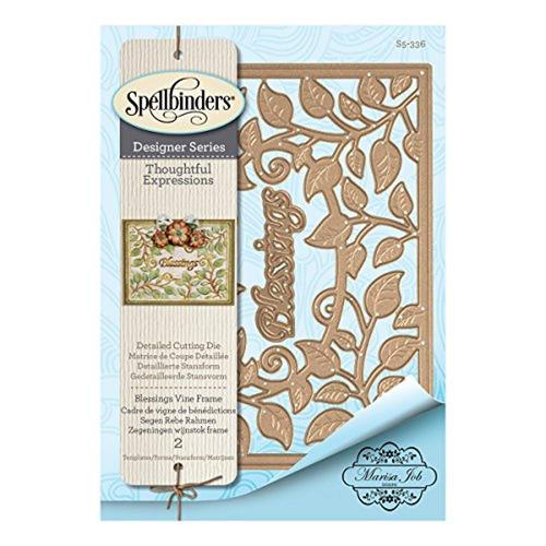 spellbinders shapeabilities blessings vine