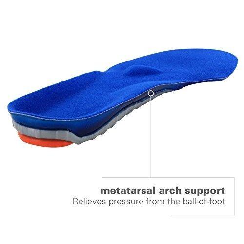 spenco gel comfort plantilla de calzado con amortiguación y