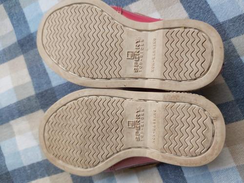 sperry auténticos zapatos para bebé niña # 12 mex y vestido