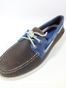 6db34b7f6ae Sperry Top Sider Cafe Hombre - Zapatos de Hombre en Mercado Libre México