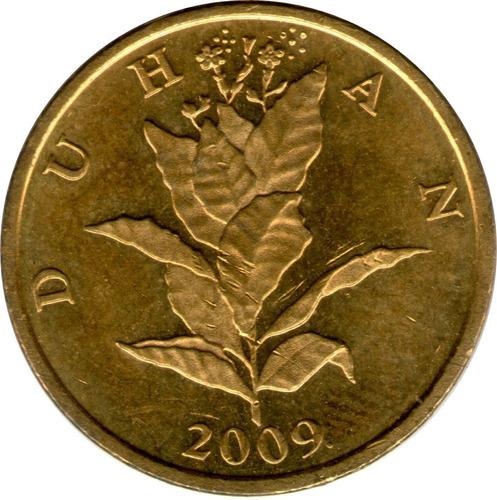 spg croacia 10 lipa tabaco leyenda en croata vs años