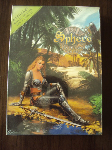 sphere - hyperion - o 1° continente - mmorpg