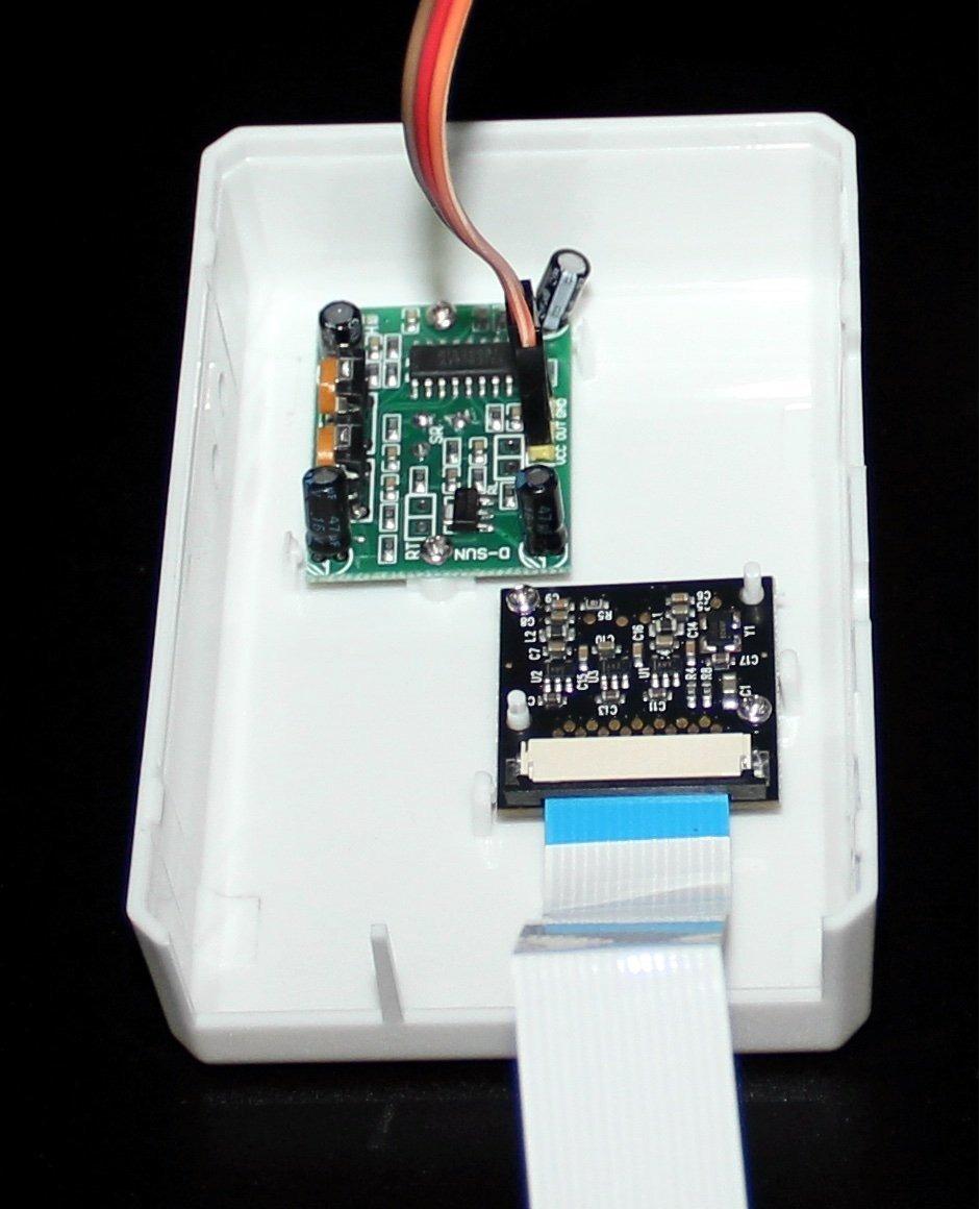 Spi-box Raspberry Pi 3 y Raspberry Pi 2 pir Activado Por