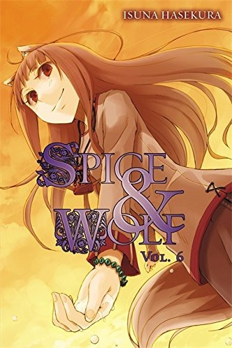 spice and wolf, vol. 6 - novela ligera