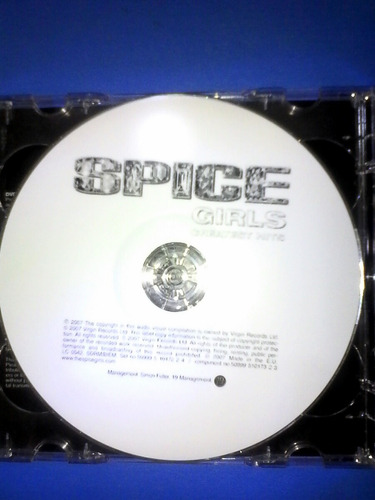 spice girls cd dvd