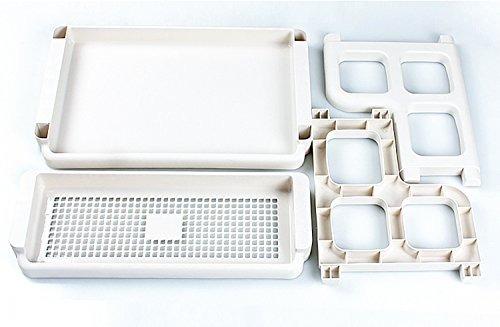 spice rack2tier plastic countertop storage shelves organizer