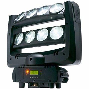 spider beam light 8 * 10w rgbw cabeza movil led