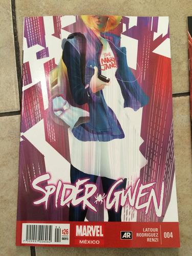 spider gwen #4 en español regular y variante televisatelevis