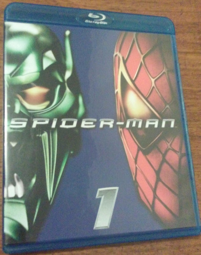 spider man 1, 3, harry potter, depredador  bluray usado.
